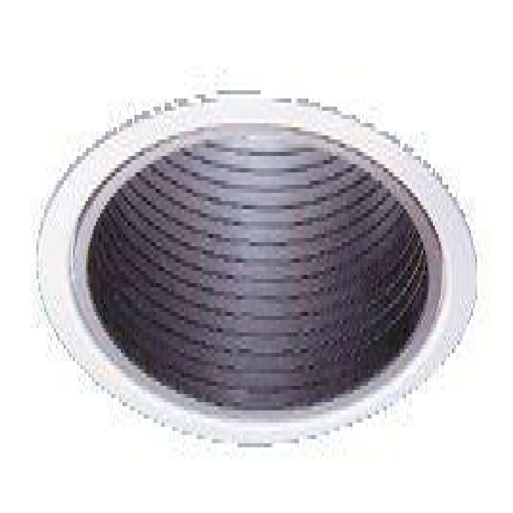 LIG1076 BASIC BLACK BAFFLE REFLECTOR TRIM LYTECASTER, LIGHTOLIER