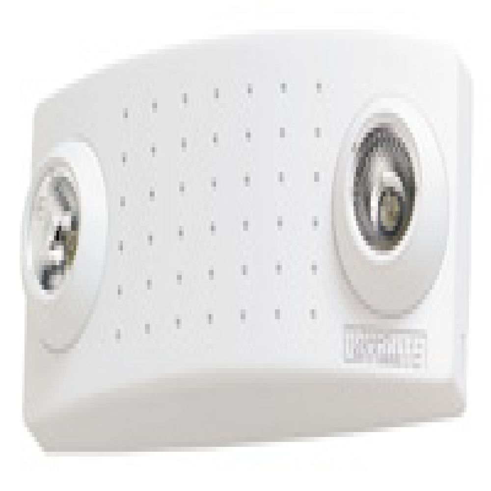 McPhilben,CAX6H,ER units with semi-recessed lamp heads, 6 Volt, 18W, white, 2-MR16 halogen lamps (no remote)