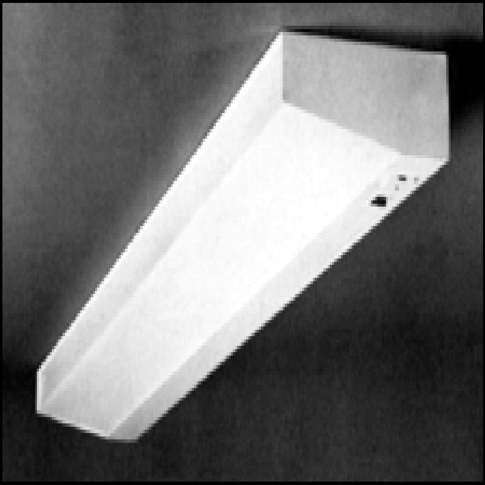 McPhilben,VEGWEM,Philips Luminaires VE Commercial Exit Sign, LED Lamp, 120/277 VAC, Epoxy Powder Coated Housing, EXIT Legend