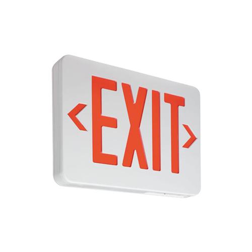 McPhilben,VERWEM,Philips Luminaires VERWEM Exit Sign, LED Lamp, 2.4 W Fixture, 120/277 VAC, EXIT Legend