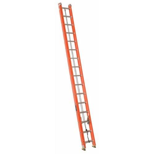 Louisville Ladder FE3232 32ft Fiberglass Extension Ladder, 300lb Load Capacity