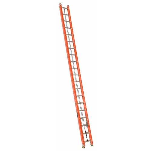 Louisville Ladder FE3240 40ft Fiberglass Extension Ladder, 300lb Load Capacity