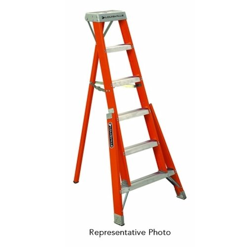L-VIL FT1005 5FT FBGL TRIPOD LADDER