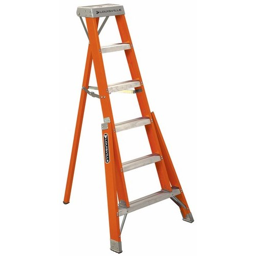 L-VIL FT1006 6FT FBGL TRIPOD LADDER