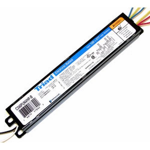 ULT C240PUNVHP-B000C 2 LAMP FT40W2G11 PROGRAMMED START ELECTRONIC BALLAST