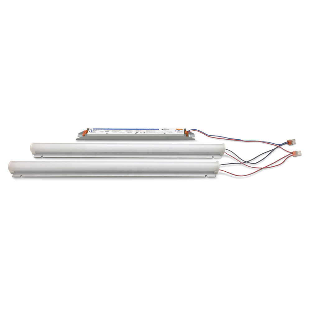 EVERLINE,LRK24-60L840-U00I,LED Linear Retrofit Kit, 2Lx4ft, 60L840I