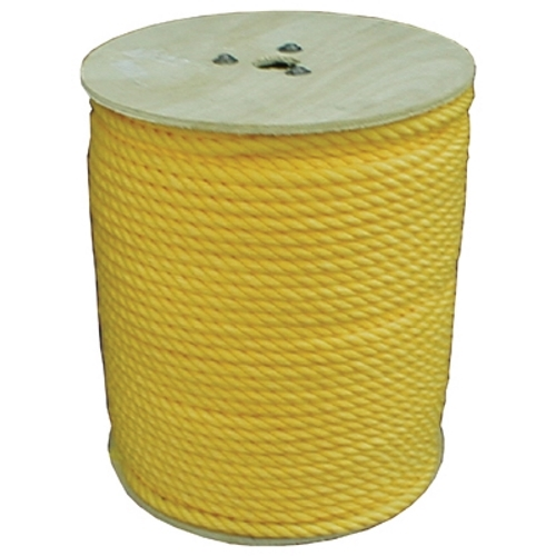 "3/8"" x 100' Polypropylene Pulling Rope"