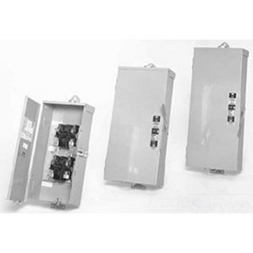 MIDWEST,GS3161G,Midwest® GS3161G Light Duty Transfer Switch, 600 VAC, 100 A, 3 Poles