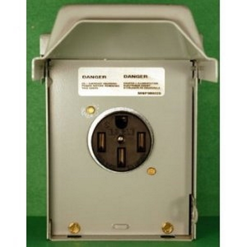 MIDWEST,U054,Midwest® U054 Power Outlet Panel, 120/240 VAC, 50 A, 1 Phase, Surface Mount