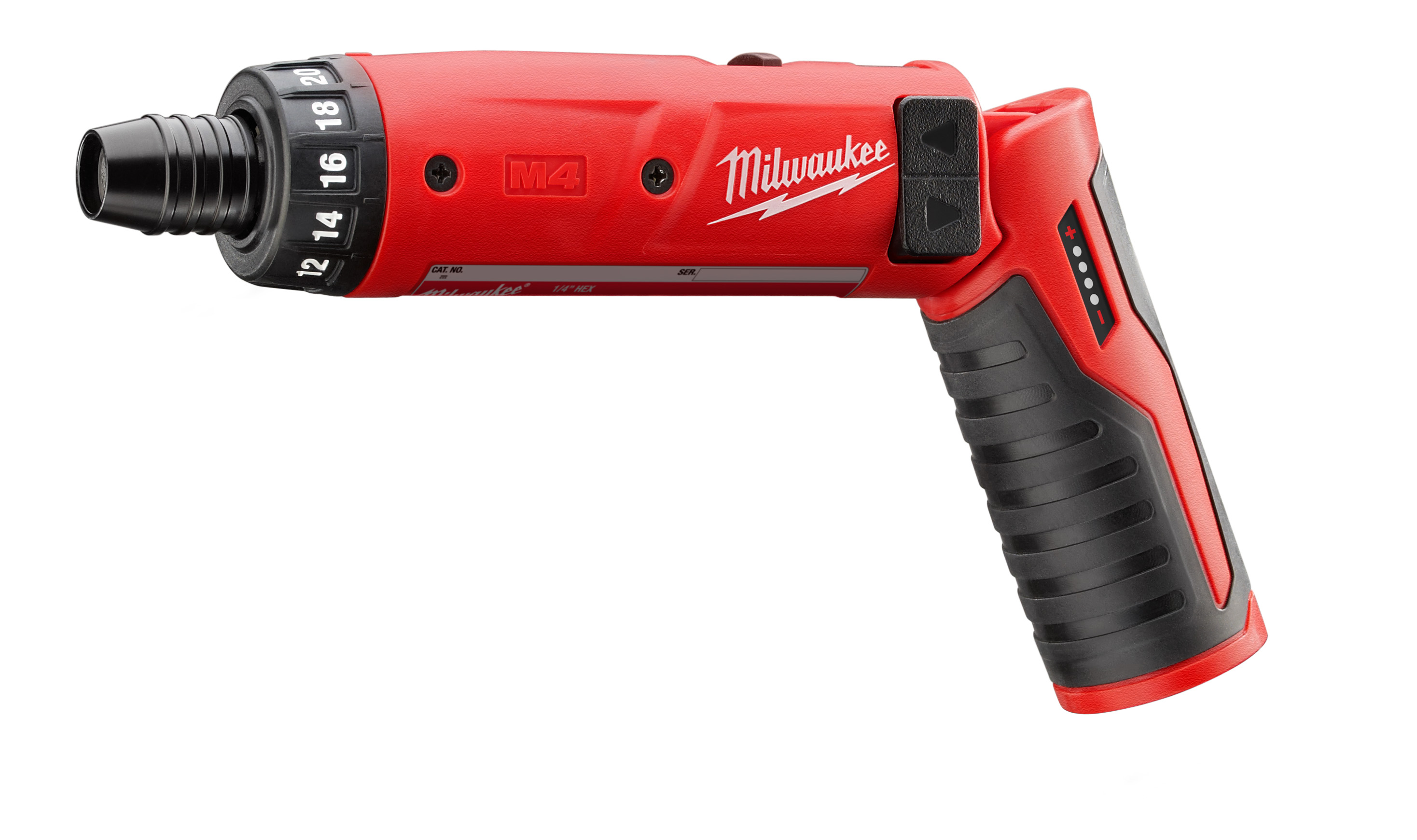"Milwaukee 2101-20 M4 1/4"" Hex Screwdriver (Bare)"