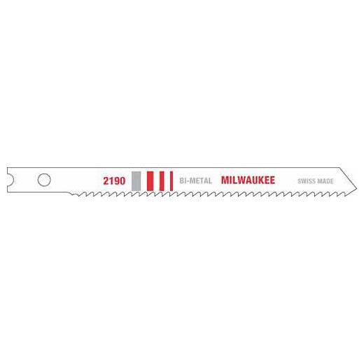 "Milwaukee 48-42-2190 3-5/8"" 14 TPI Bi-Metal Jig Saw Blade (5 Pack)"