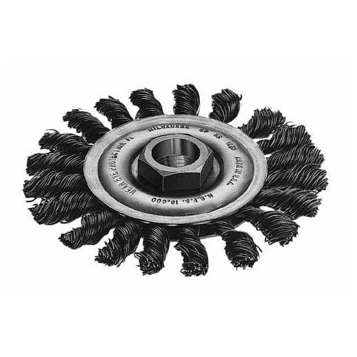 Milwaukee,48-52-5030,WHEEL 4 IN CABLE TWIST KNOT