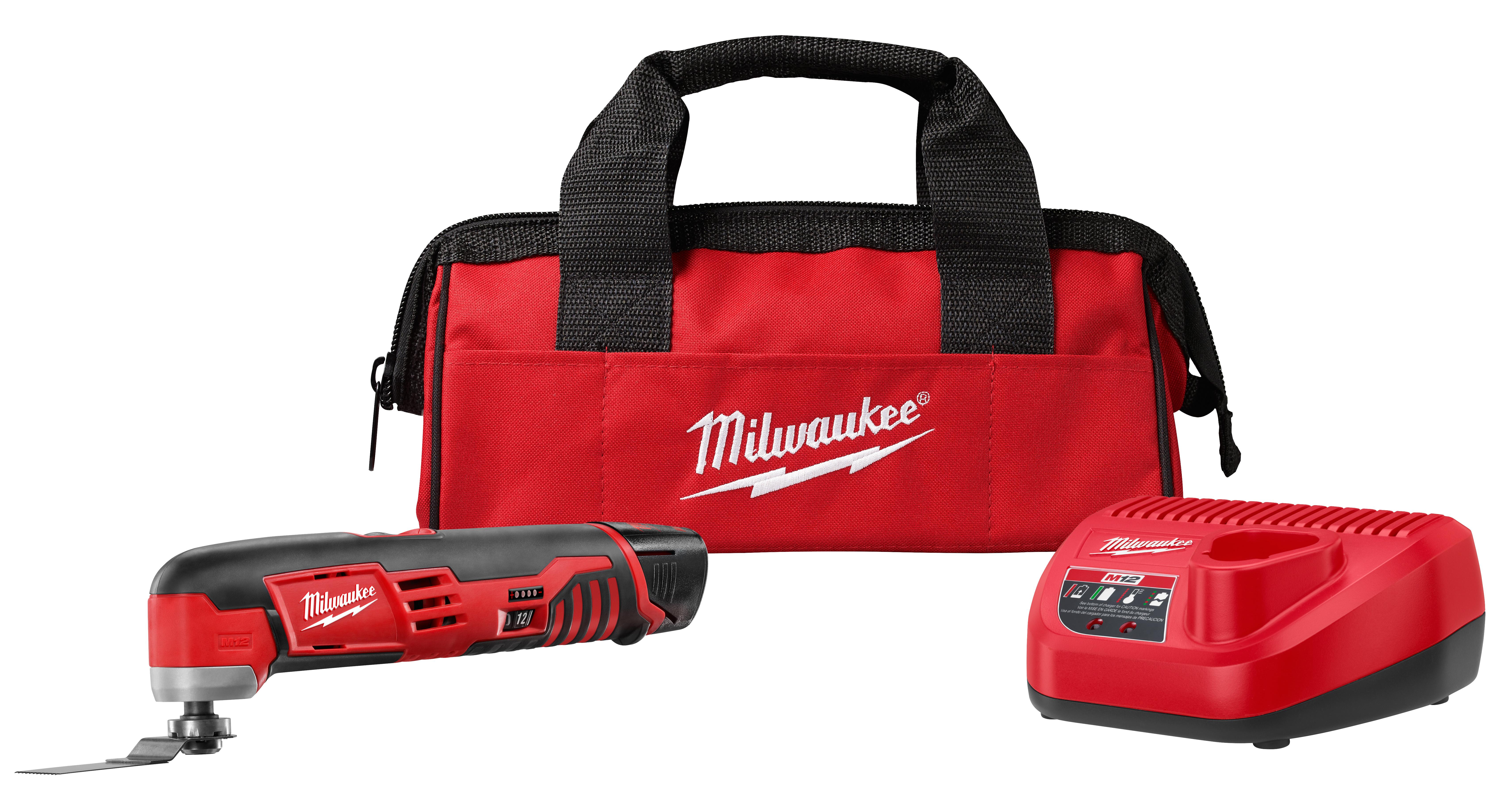 Milwaukee 2426-21 M12™ Cordless Lithium-Ion Multi-Tool One Battery Kit