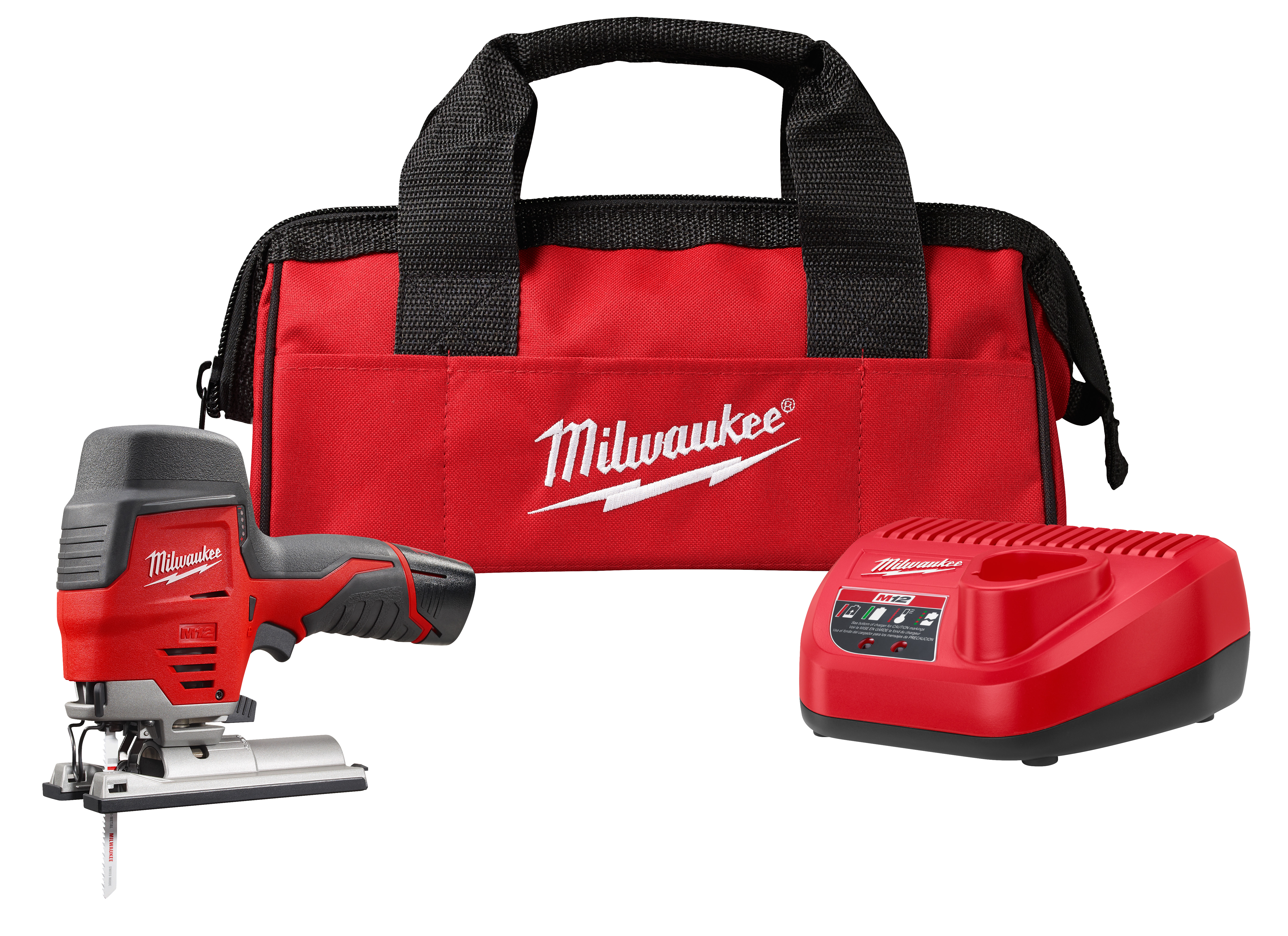 Milwaukee 2445-21 M12™ Cordless High Performance Jig Saw Kit