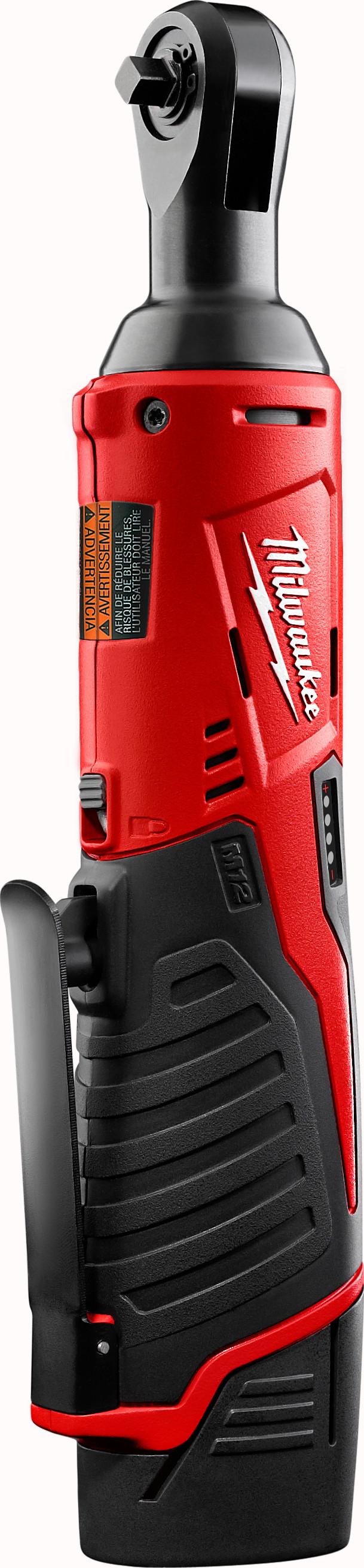 """Milwaukee 2456-21 M12™ Cordless 1/4"""" Ratchet Kit"""