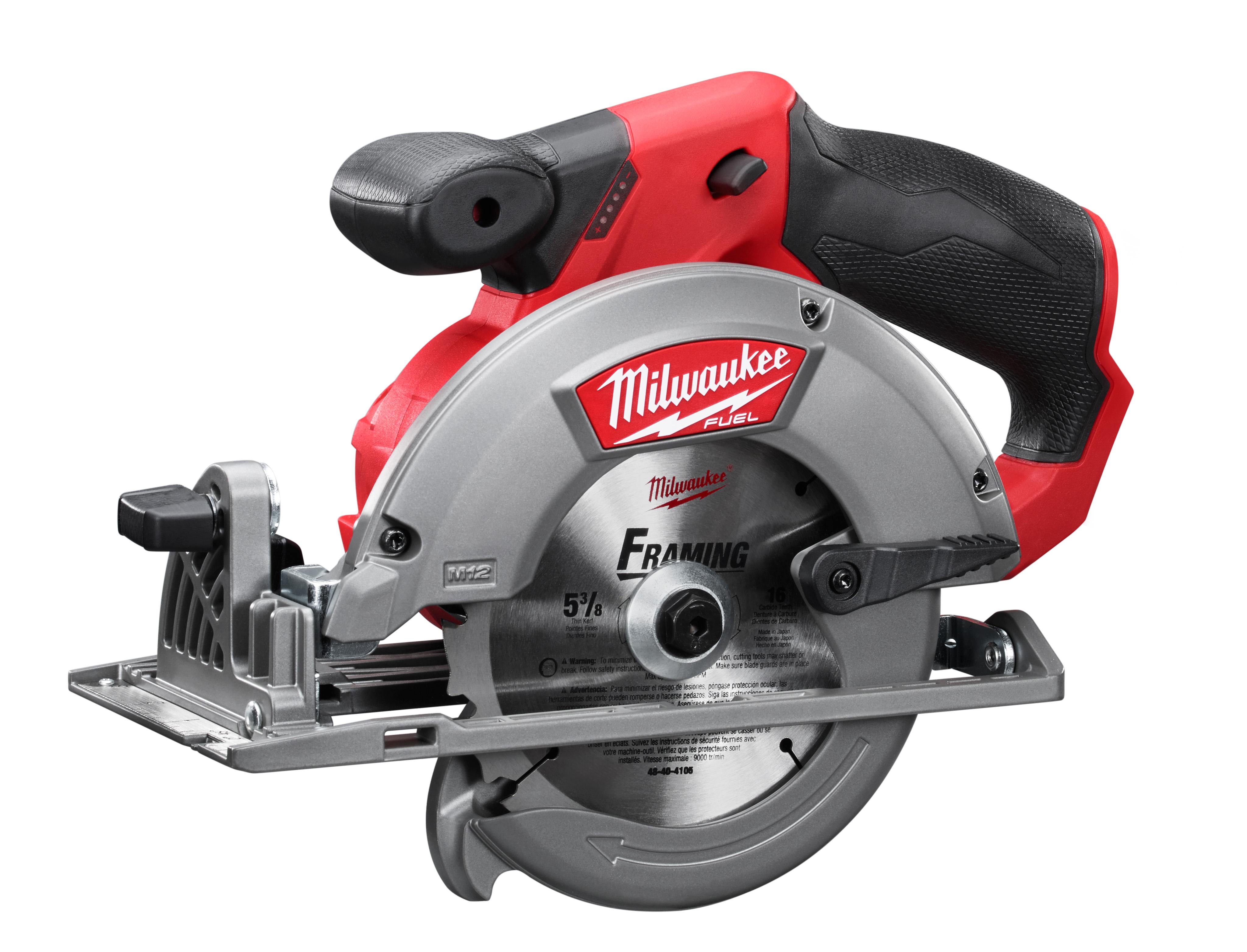 "Milwaukee 2530-20 M12 FUEL™ 5-3/8"" Circular Saw - Tool Only"
