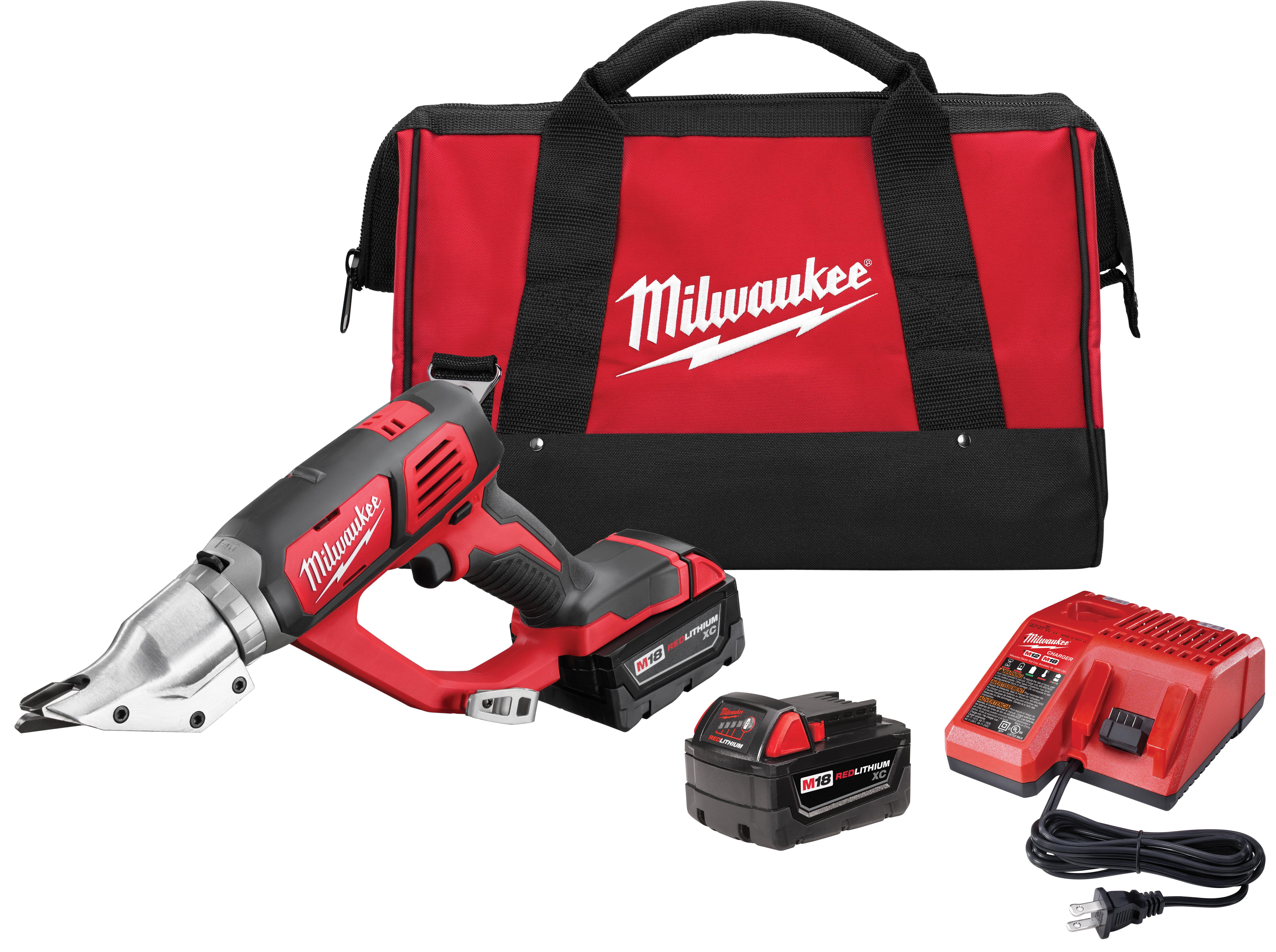 Milwaukee 2635-22 M18™ Cordless 18 Gauge Double Cut Shear Kit