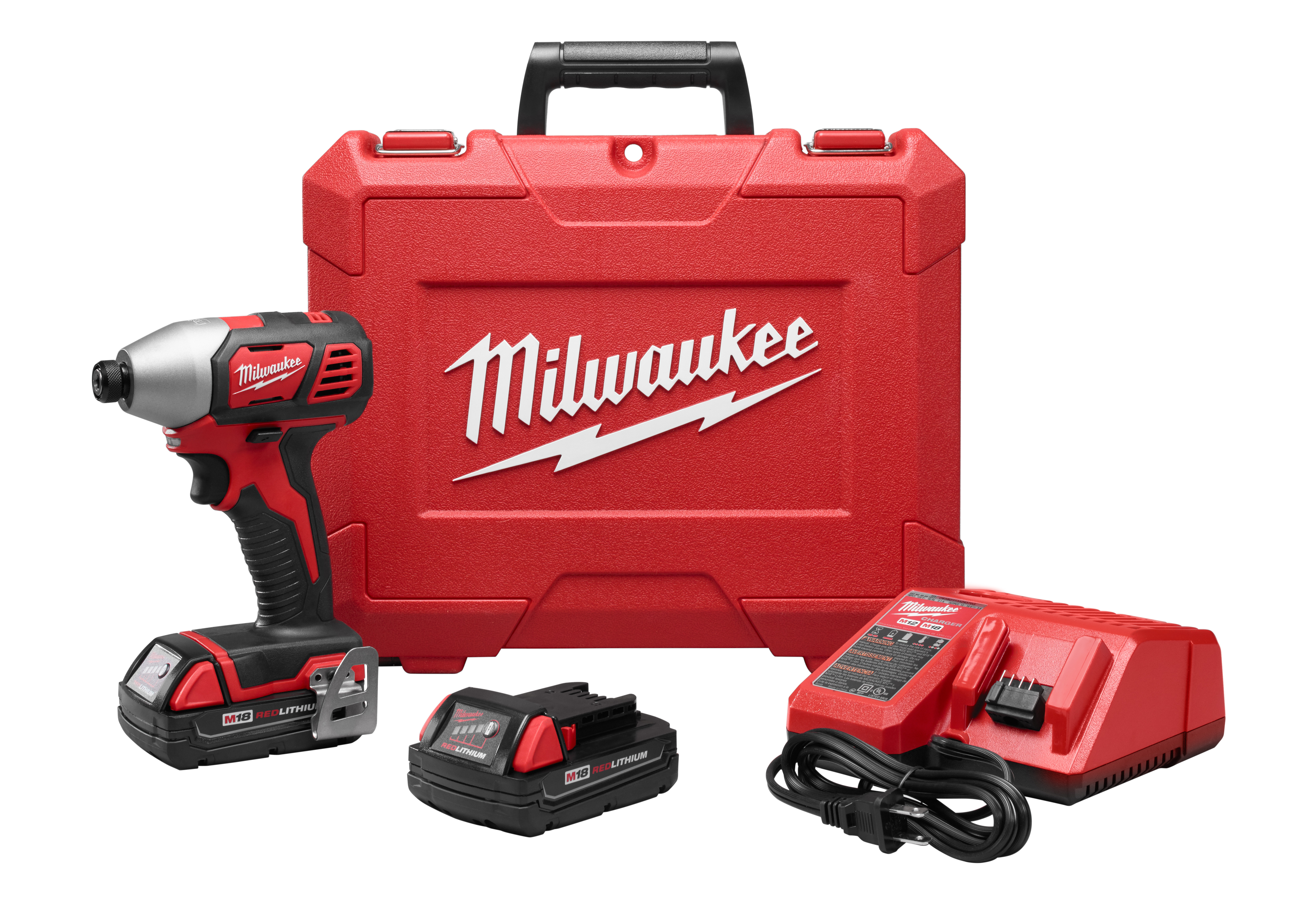 "Milwaukee 2656-22CT M18™ 1/4"" Hex Impact Driver CP Kit"
