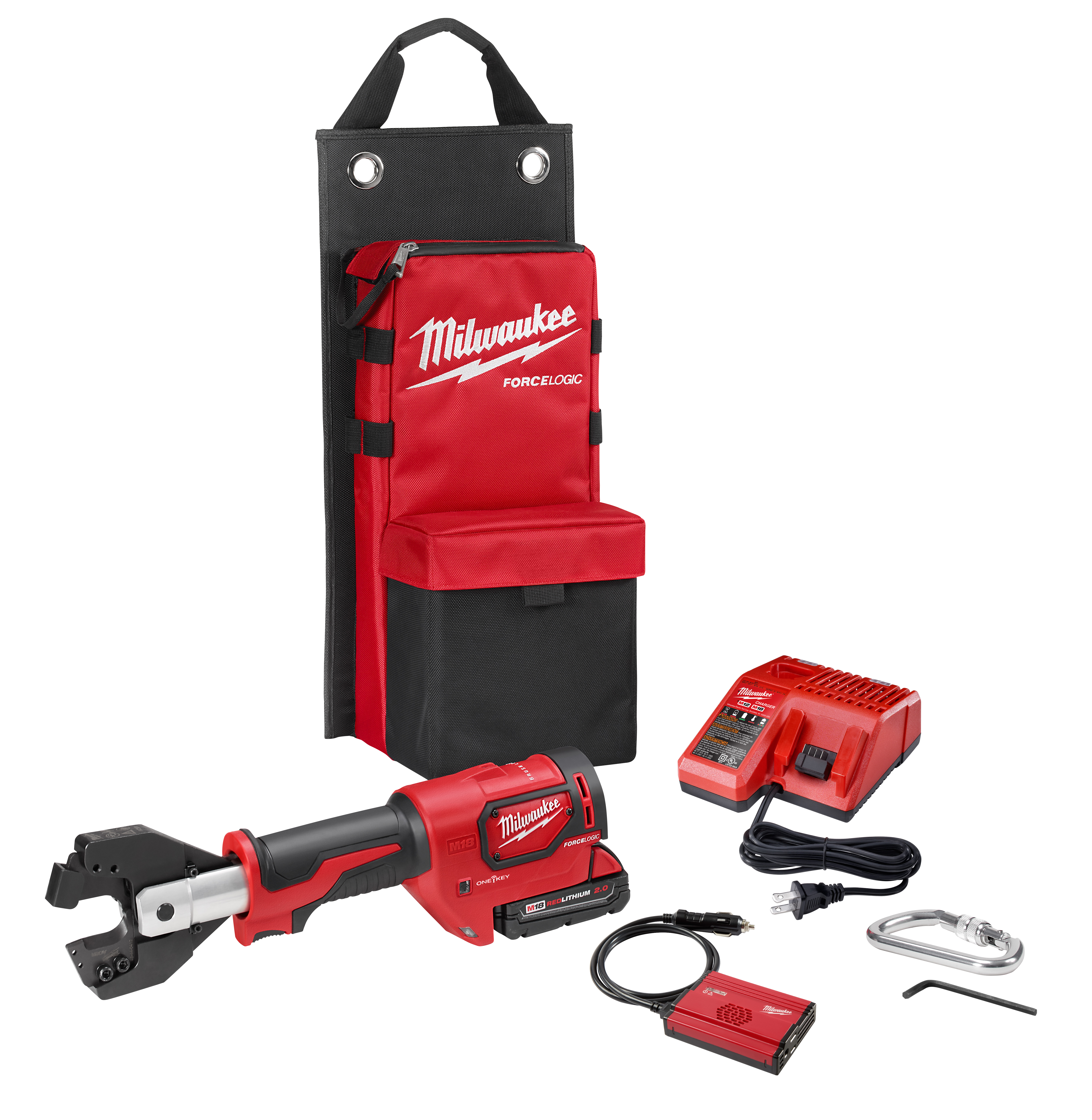 Milwaukee 2672-21S M18™ Force Logic™ Cable Cutter Kit with 477 ACSR Jaws