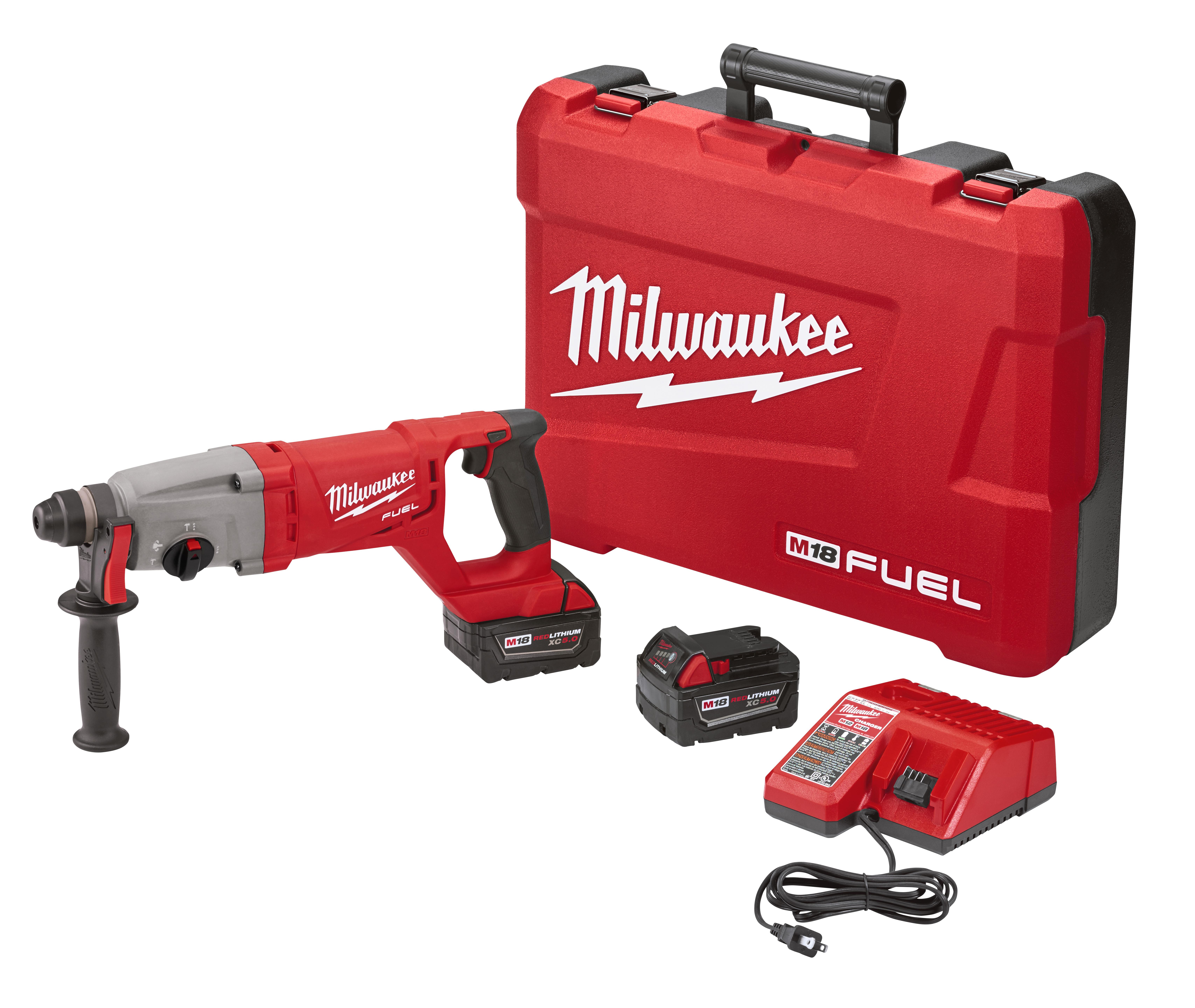 Milwaukee 2713-22 M18 FUEL™ D-Handle Rotary Hammer Kit
