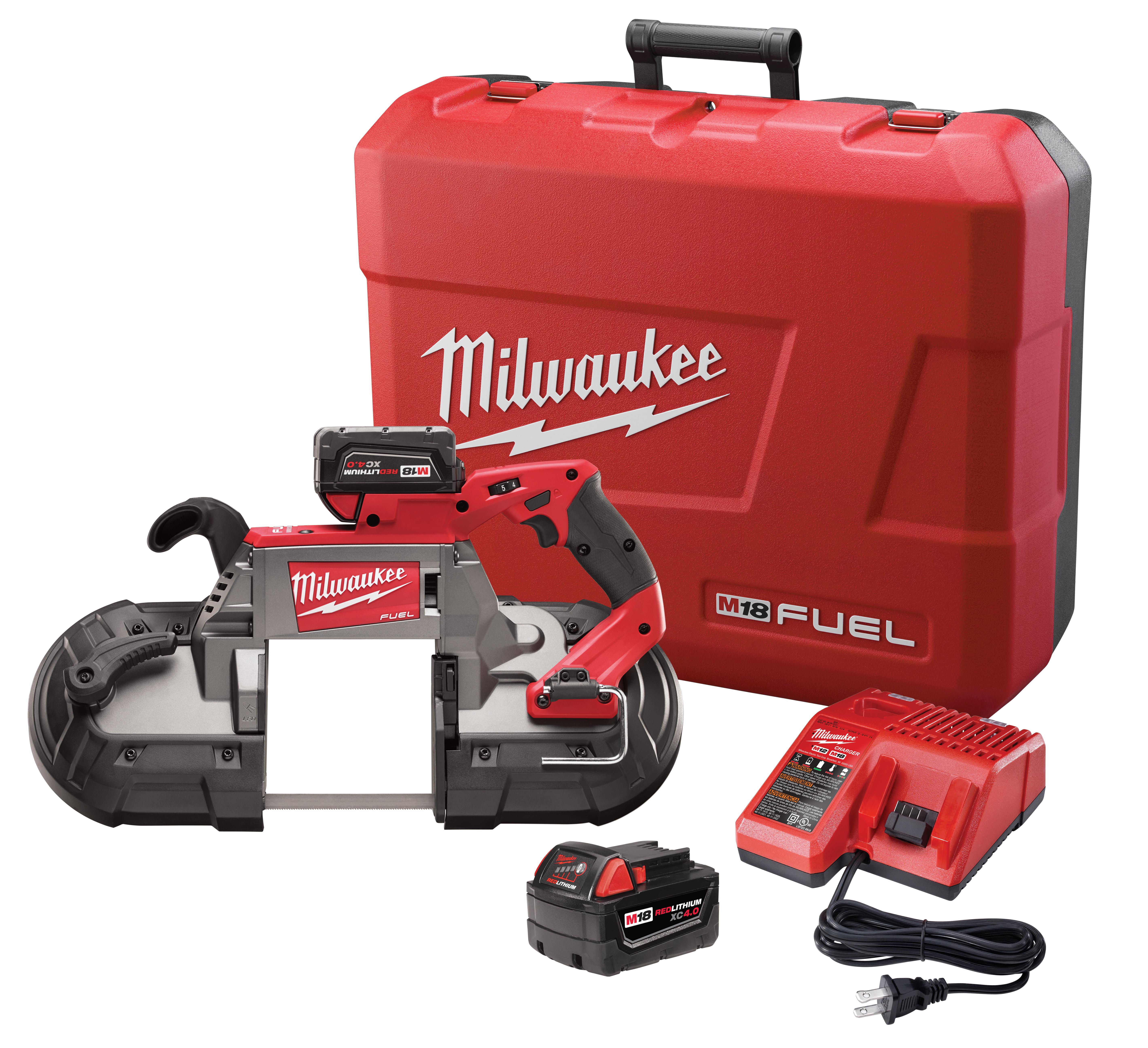 Milwaukee 2729-22 M18 FUEL™ Deep Cut Band Saw - 2 Battery Kit