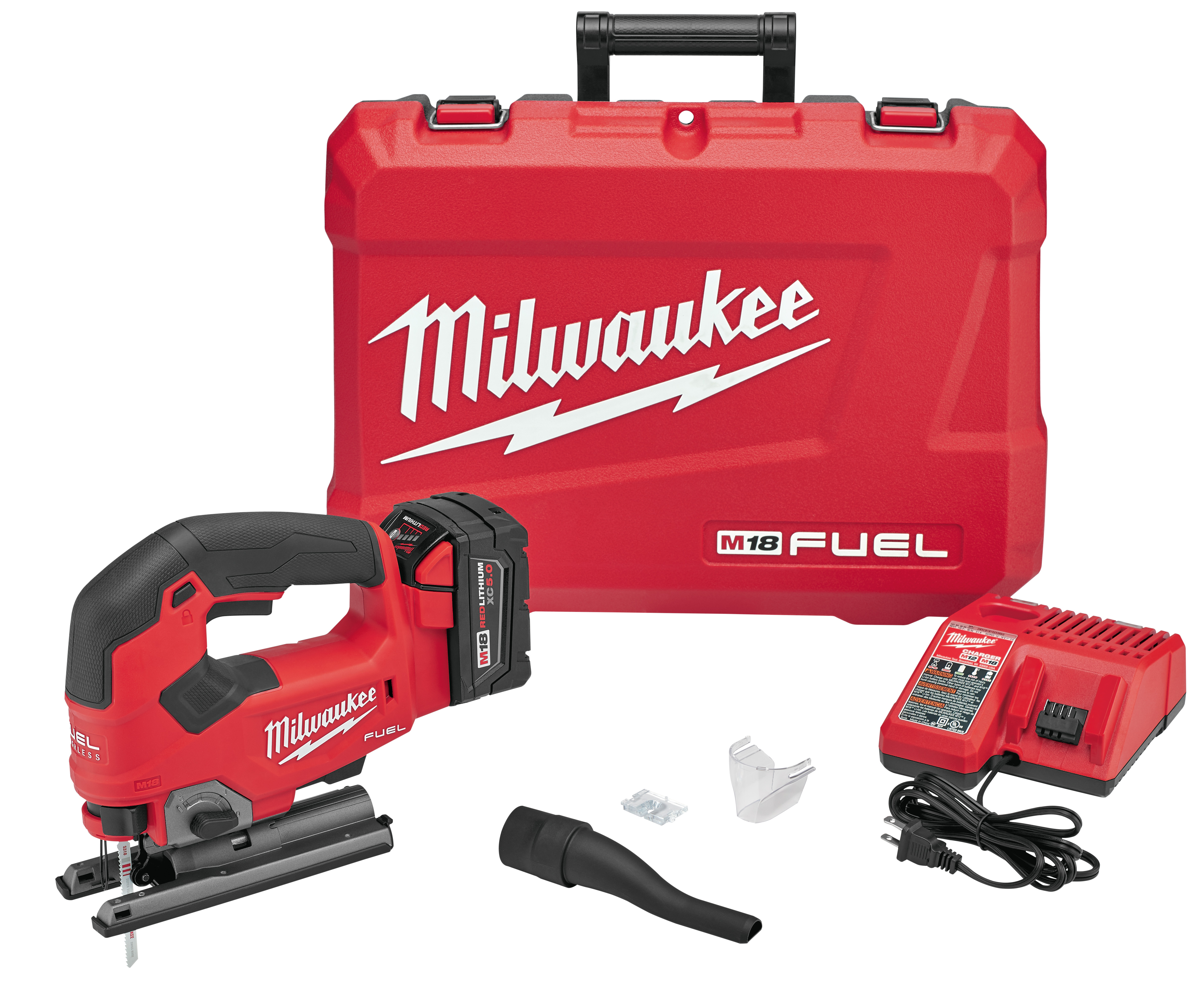 MILW 2737-21 M18 FUEL(TM) D-Handle Jig Saw Kit