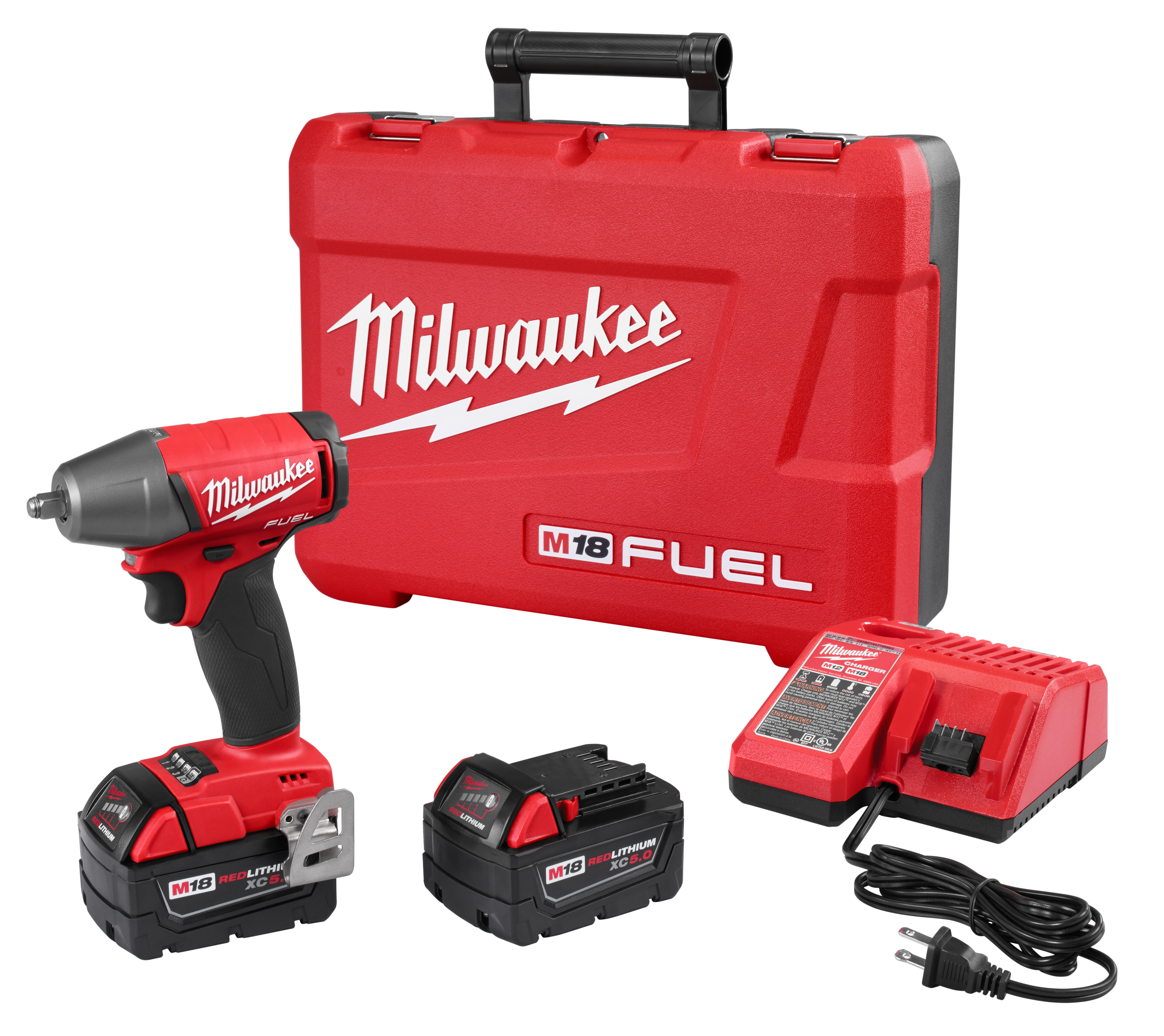 "Milwaukee 2754-22 M18 FUEL™ 3/8"" Compact Impact Wrench w/ Friction Ring Kit"