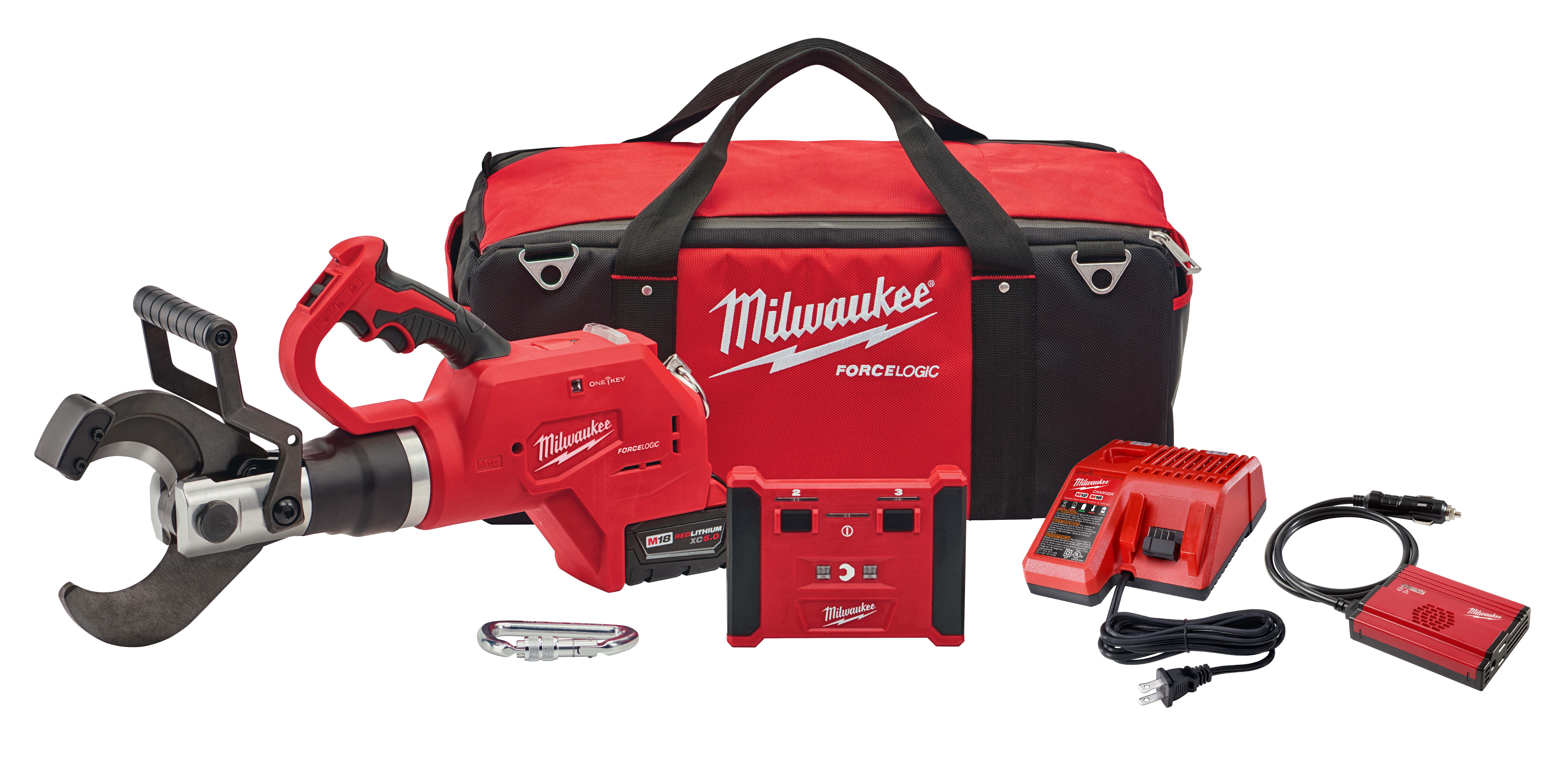 """Milwaukee 2776R-21 M18 FORCE LOGIC 3"""" Underground Cable Cutter w/ Wireless Remote"""