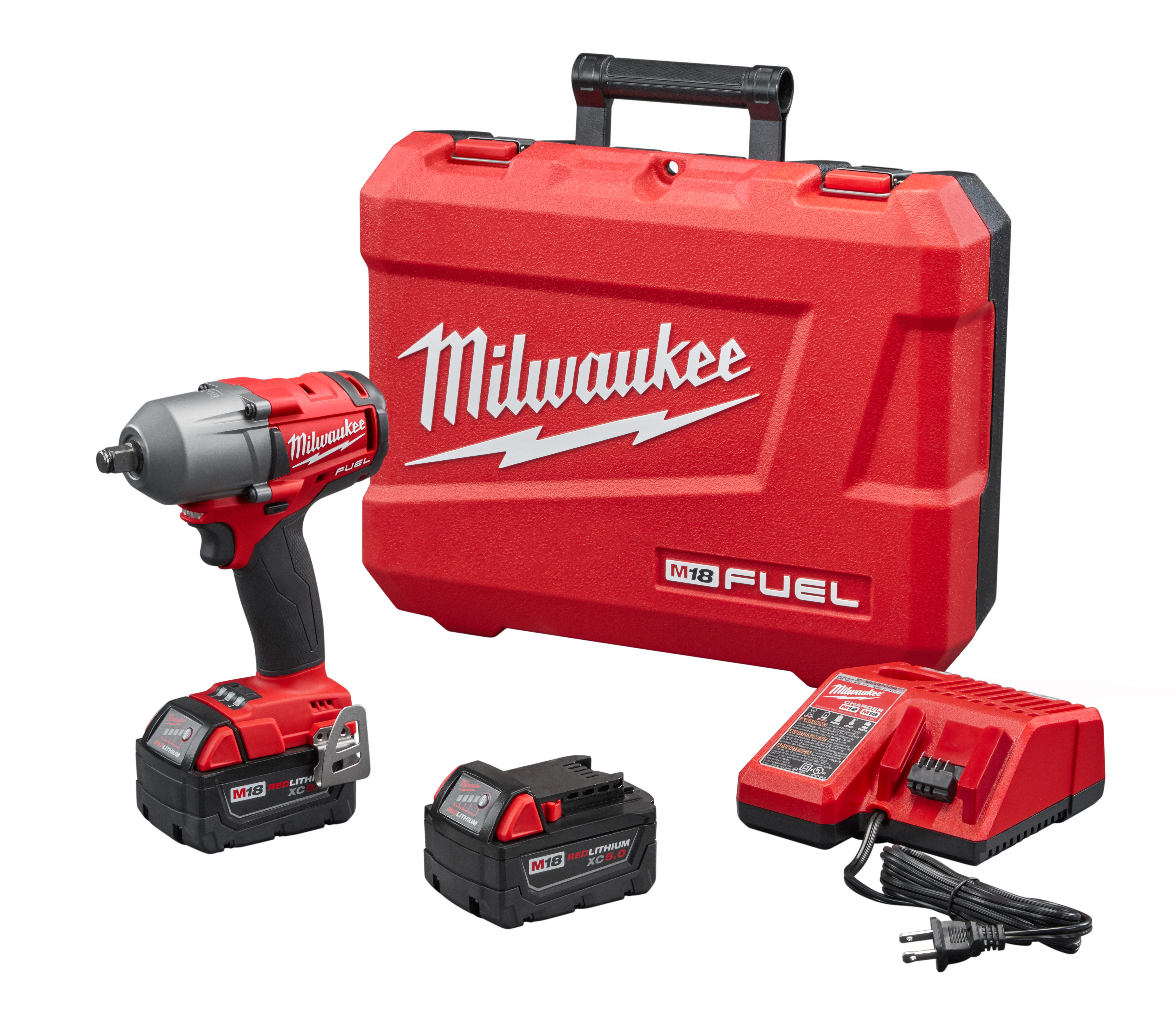 "Milwaukee 2861-22 M18 FUEL™ MTIW 1/2"" Friction Ring - 5.0 Kit"