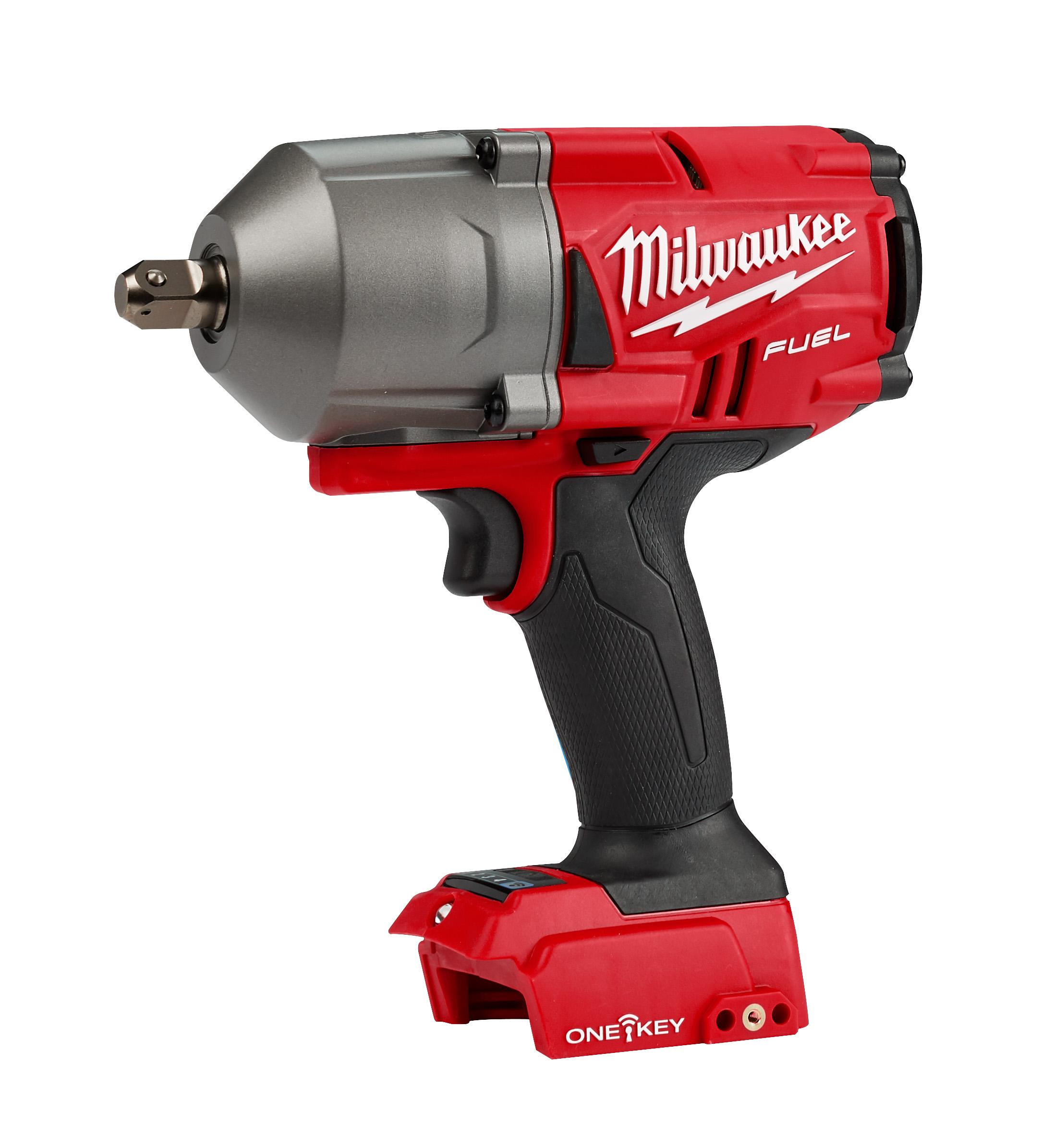 "Milwaukee 2862-20 M18 FUEL 1/2"" High-Torque Impact Wrench w/ ONE-KEY"