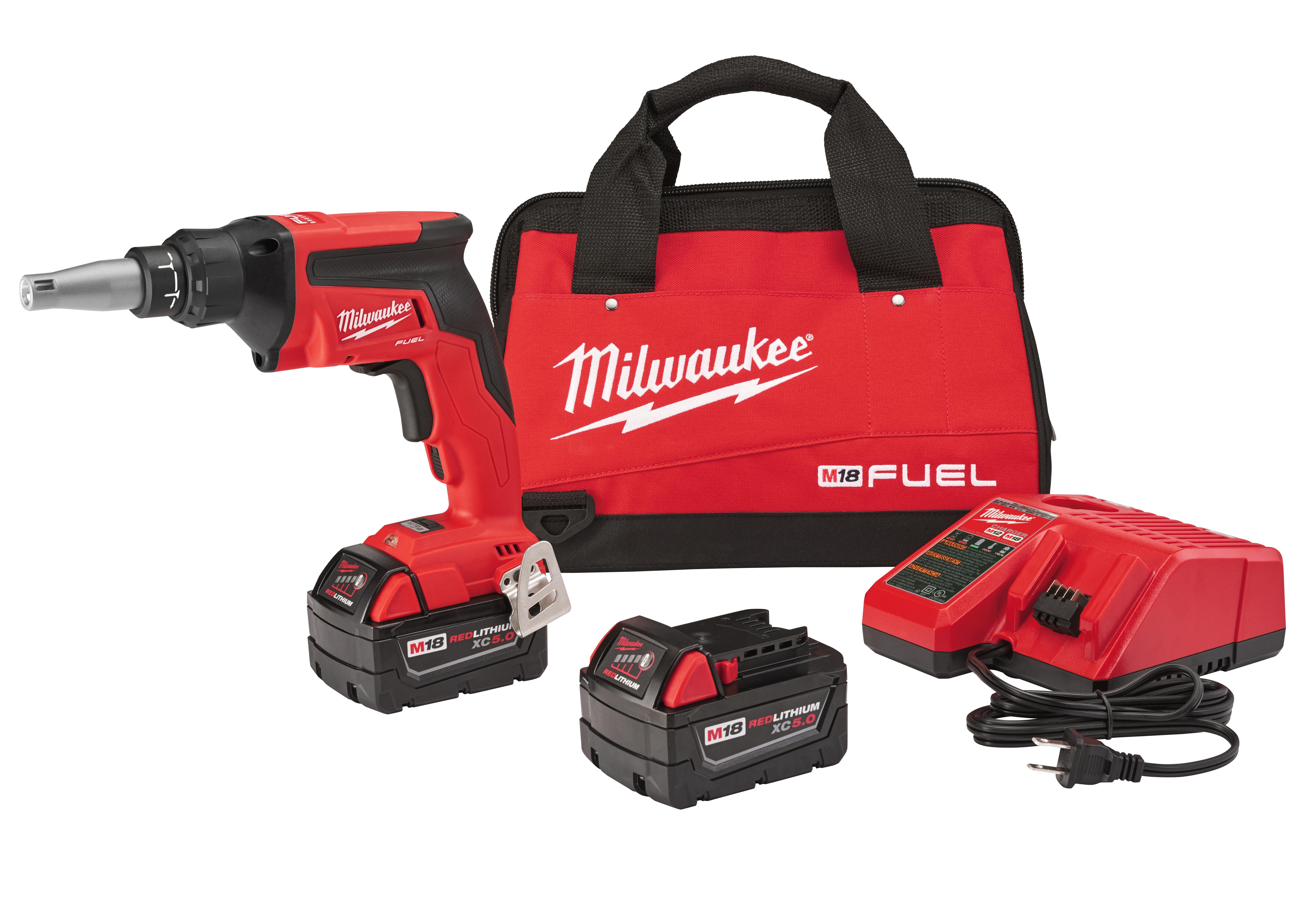 Milwaukee 2866-22 M18 FUEL™ Drywall Screw Gun- XC Kit
