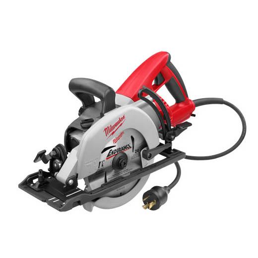 "Milwaukee 6577-20 7-1/4"" Worm Drive Circular Saw with Twist Plug"