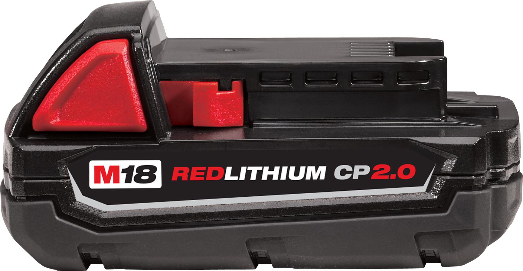 Milwaukee 48-11-1820 M18™ REDLITHIUM™ 2.0Ah Compact Battery Pack
