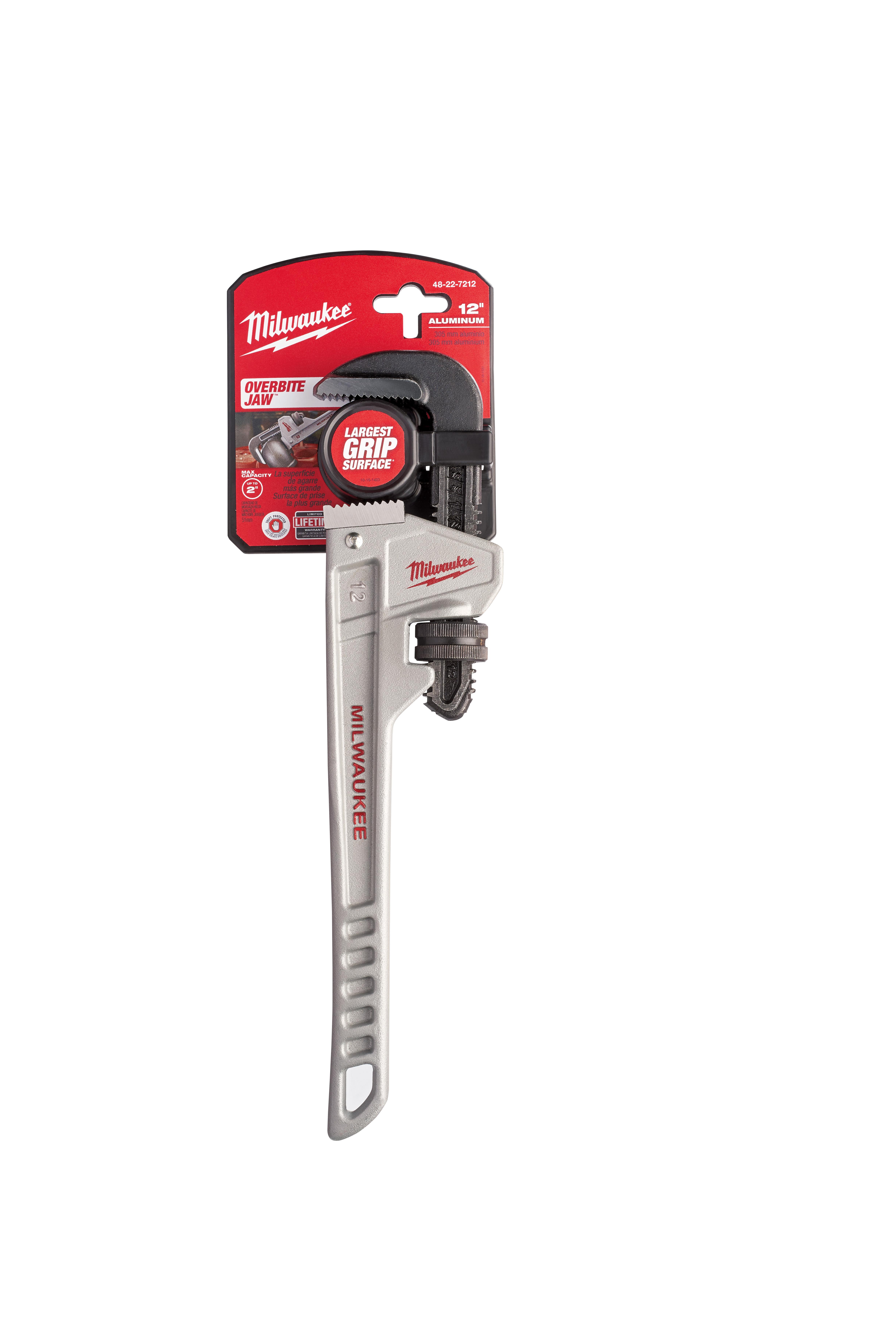 """Milwaukee 48-22-7212 12"""" Aluminum Pipe Wrench"""