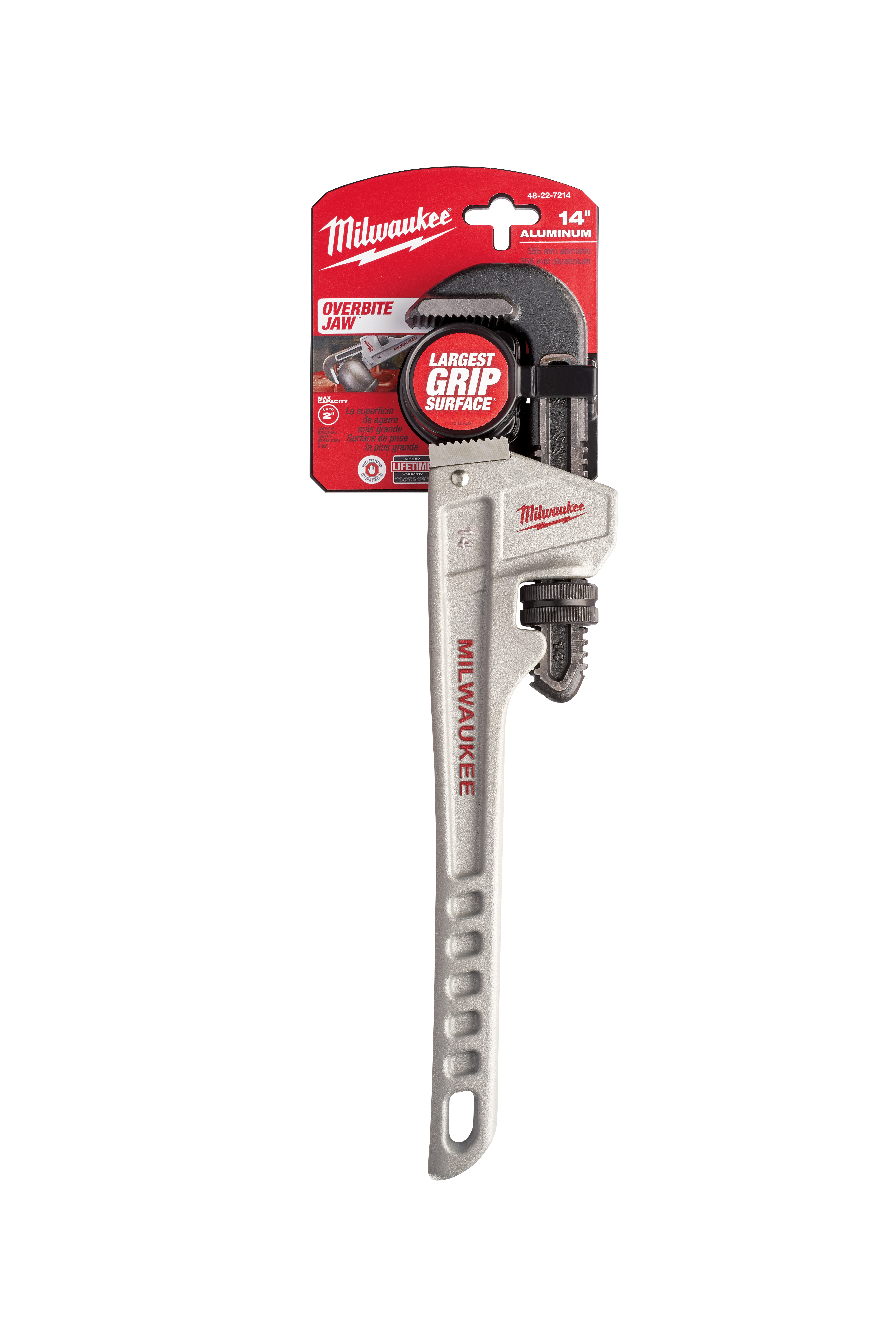 """14"""" AL PIPE WRENCH"""
