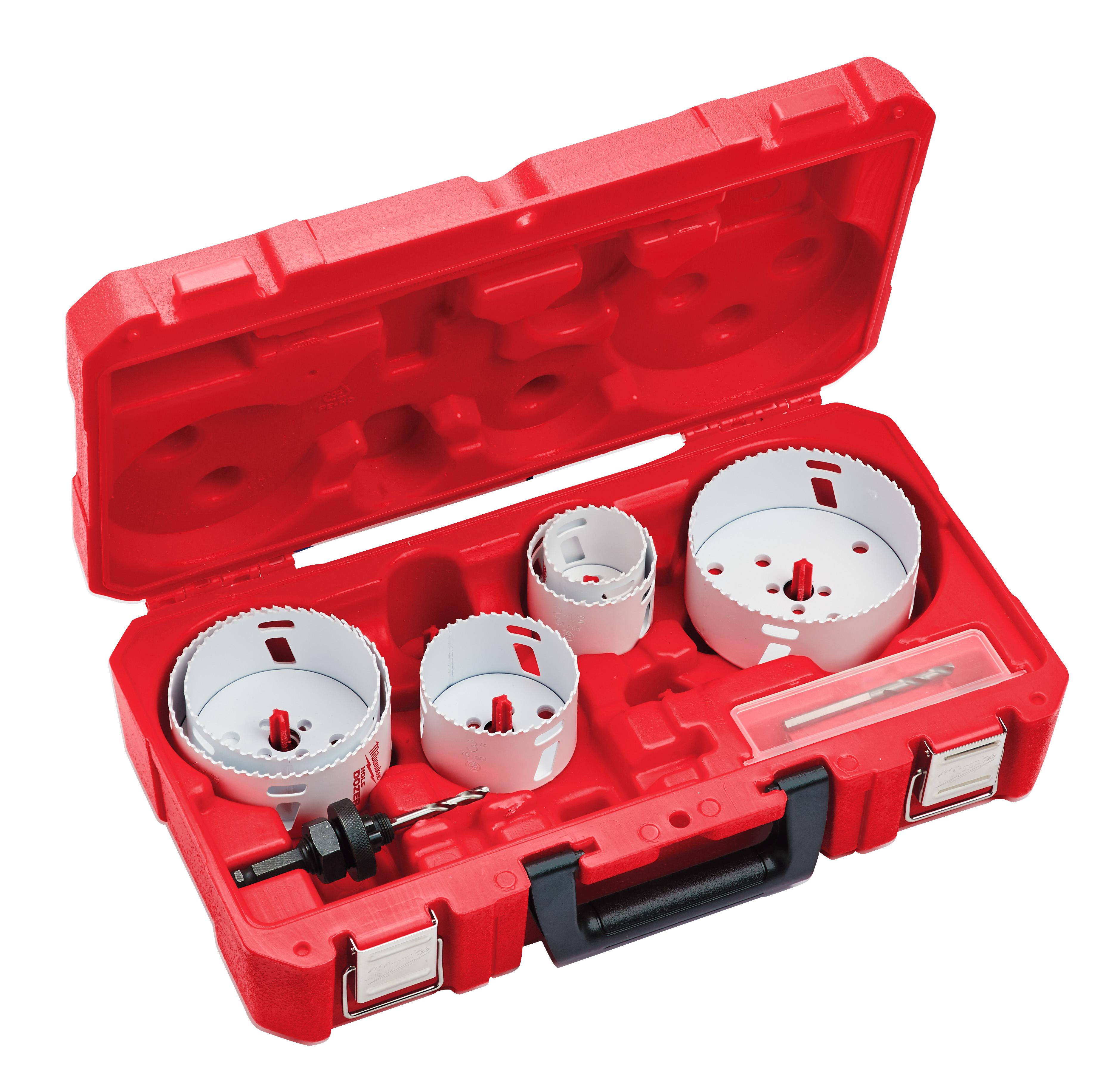 Milwaukee 49-22-4092 8pc Electrician's Large Diameter HOLE DOZER™ Hole Saw Kit