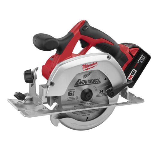"Milwaukee 2630-20 M18™ Cordless Lithium-Ion 6-1/2"" Circular Saw- Bare Tool"