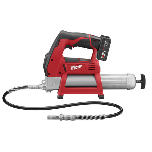 Milwaukee 2446-21XC M12™ Cordless Grease Gun Kit