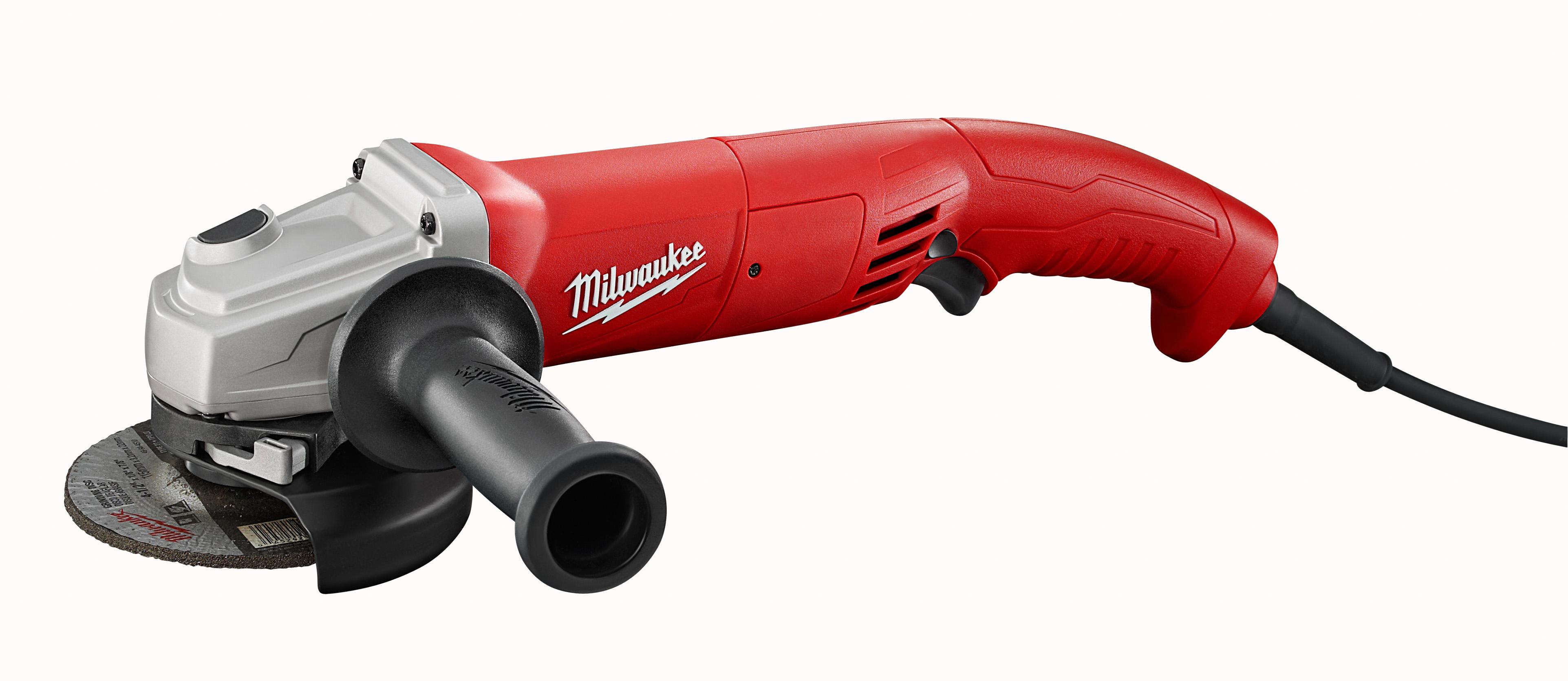 "Milwaukee 6121-31 11 Amp 4-1/2"" Small Angle Grinder Trigger Grip, No-Lock"