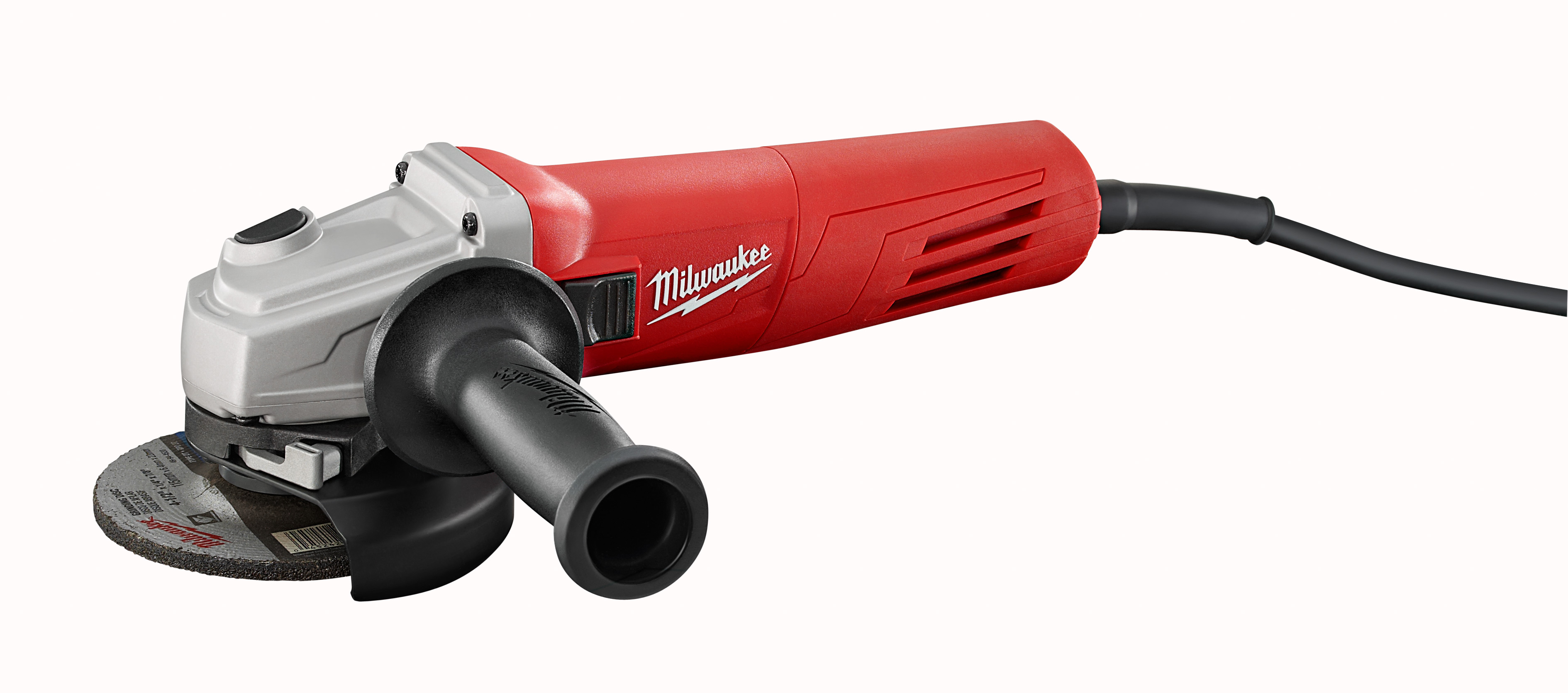 "Milwaukee 6146-33 11 Amp 4-1/2"" Small Angle Grinder Slide, Lock-On"