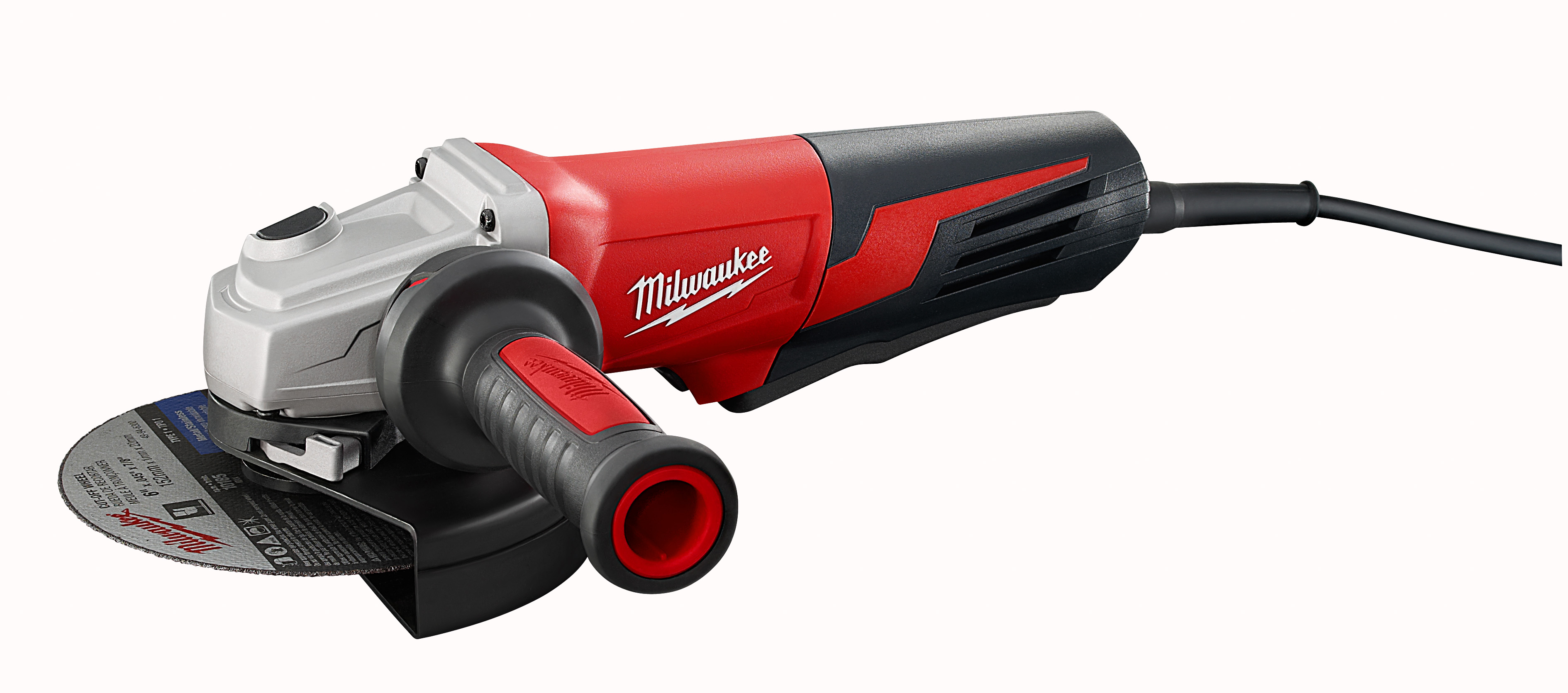 "Milwaukee 6161-31 13 Amp 6"" Small Angle Grinder Paddle, No-Lock"