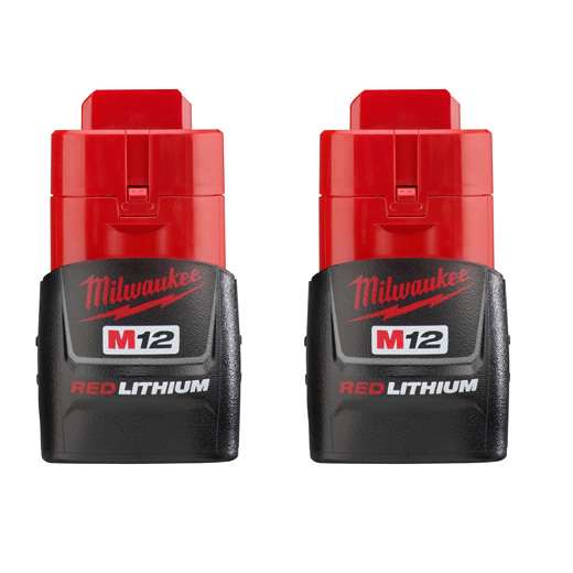 MILW 48-11-2411 M12 BATTERY,COMPACT,2-PK