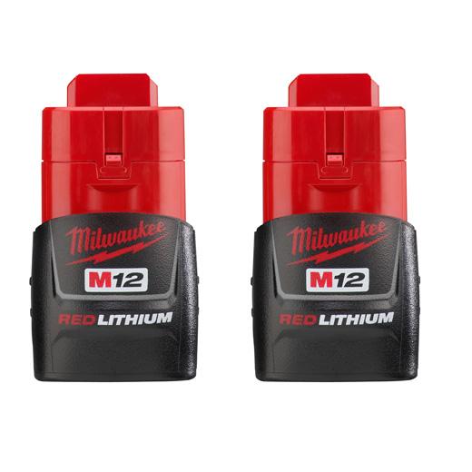 MILW 48-11-2411 M12 REDLITHIUM 2 PACK - CP BAT