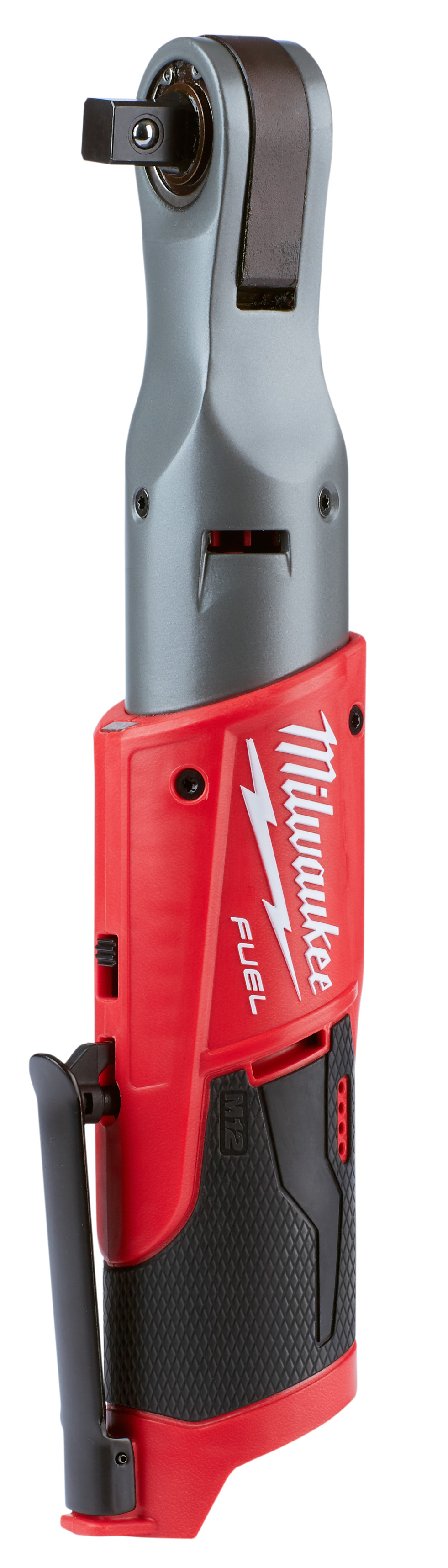 Milwaukee® M12 FUEL™ 2558-20 Cordless Ratchet, 1/2 in Drive, 60 ft-lb, 0 to 175 rpm, 12 VDC, Lithium-Ion Battery, 3.8 in OAL