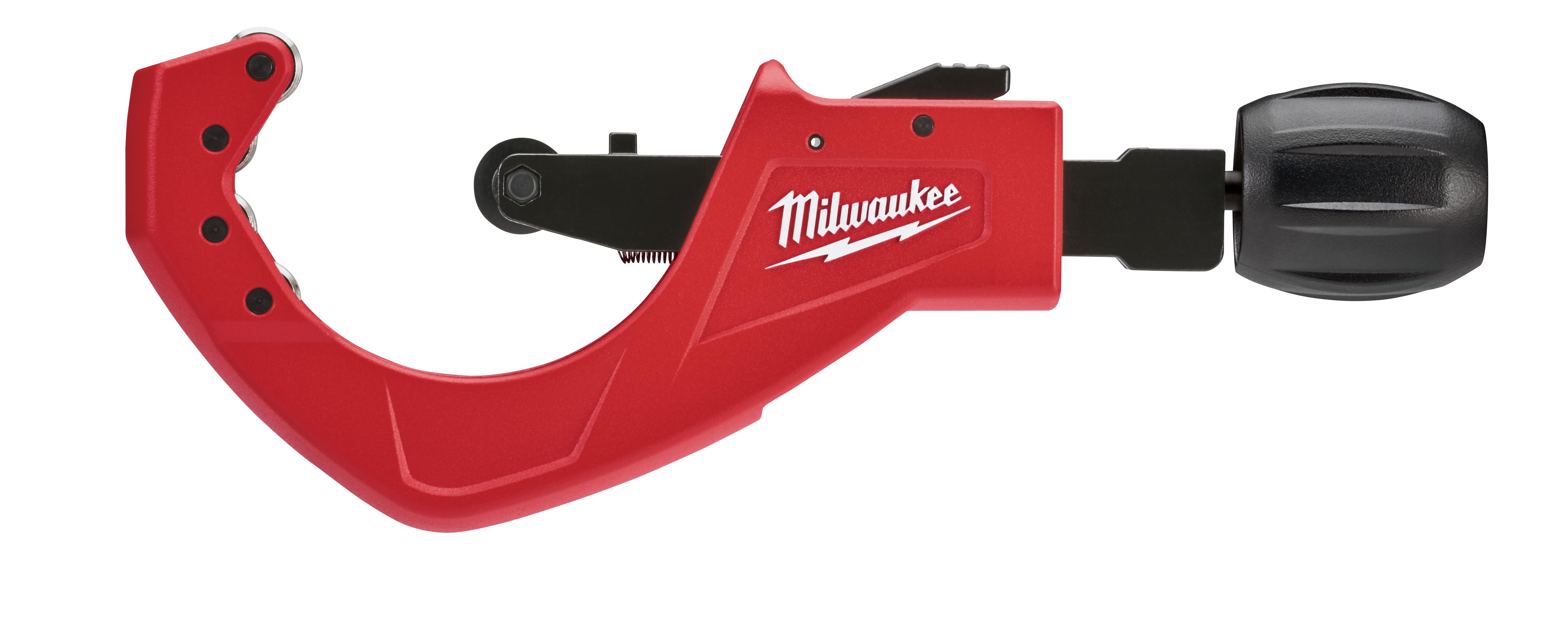 Milwaukee® 48-22-4253 Quick Adjust Tubing Cutter, 1/4 to 2-5/8 in, Steel Cutting Edge