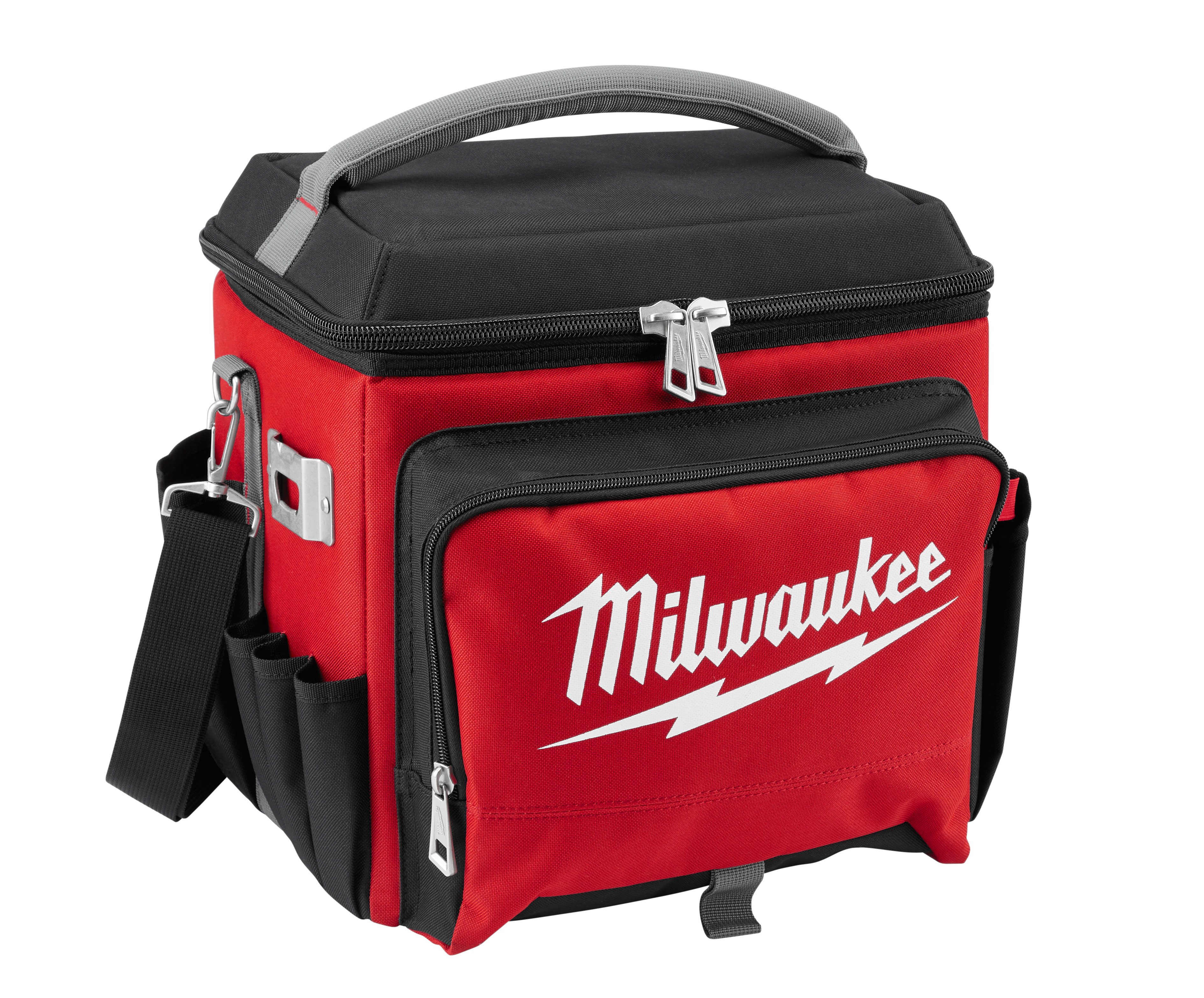 Milwaukee® 48-22-8250 Jobsite Cooler, 21.65 qt, Polyester, Black/Red, 14.96 in H