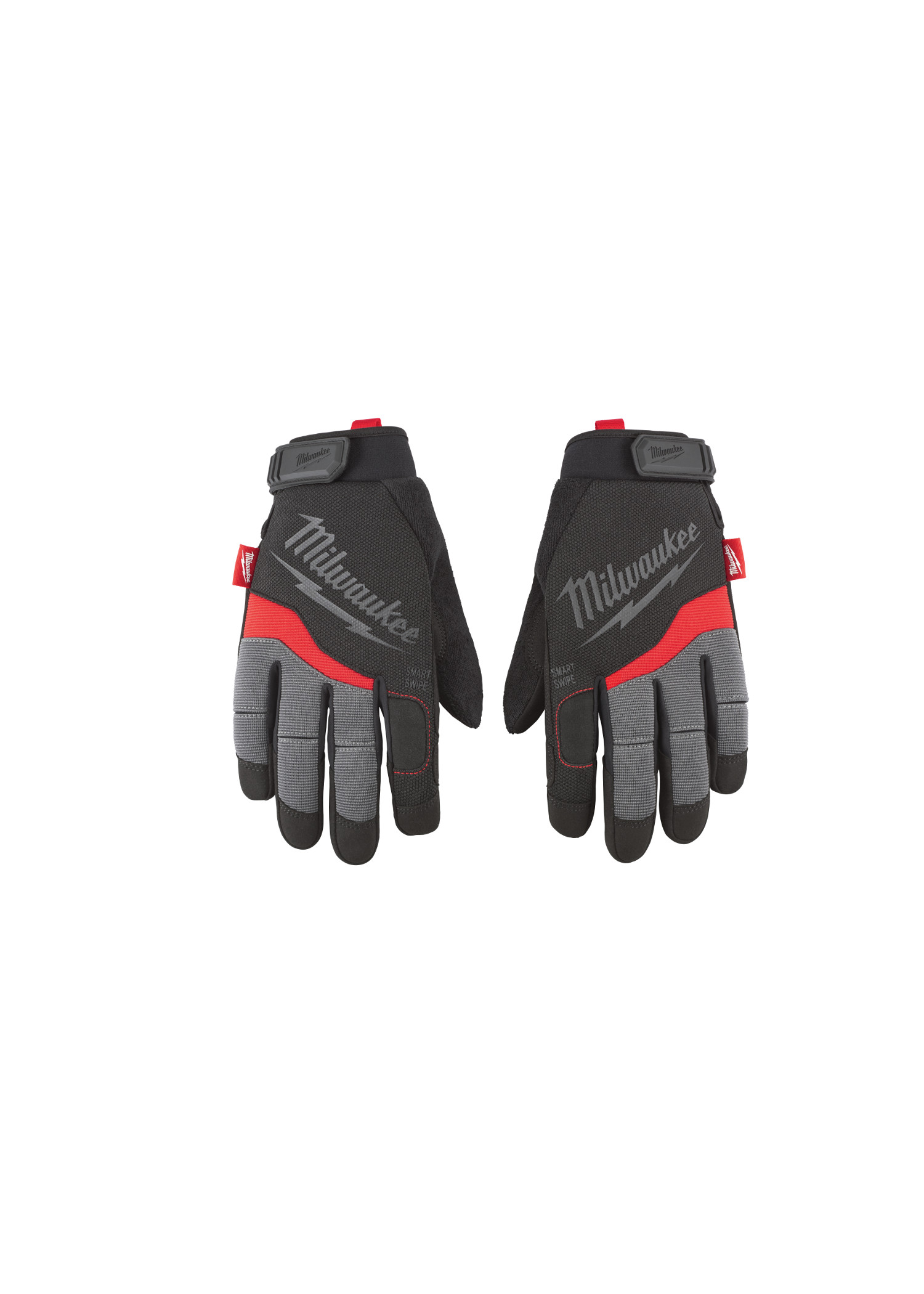 Milwaukee® 48-22-8724 General Purpose Performance Work Gloves, 2XL, Black/Red, High Dexterity Finger Tip, Synthetic Leather