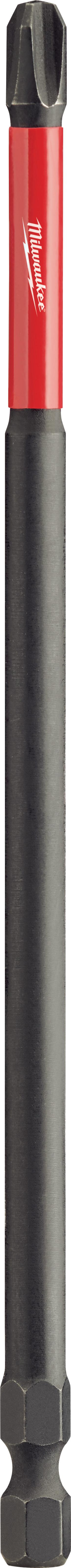 Milwaukee® 48-32-4208 Shockwave™ Impact Driver Bit, NO 3 Phillips® Point, 6 in OAL, 1/4 in, Custom Alloy76™ Steel