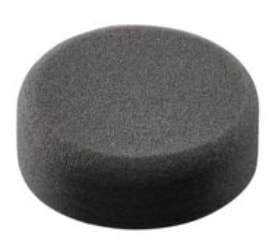 Milwaukee® 49-36-5789 Finishing Pad With Disc Nut, 3 in Dia, 1-1/4 in THK, Hook and Loop Attachment, Foam Pad