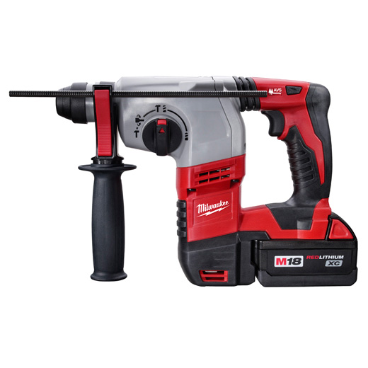 MIL 2605-22 7/8 M18 SDS HAMMER DRILL/TWO BATTERIES/CHARGER